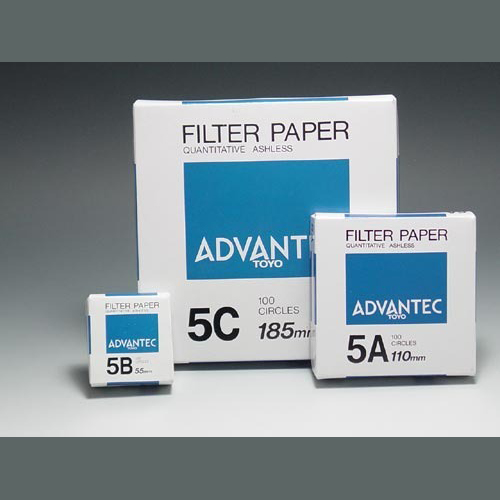 Advantec papel de filtro